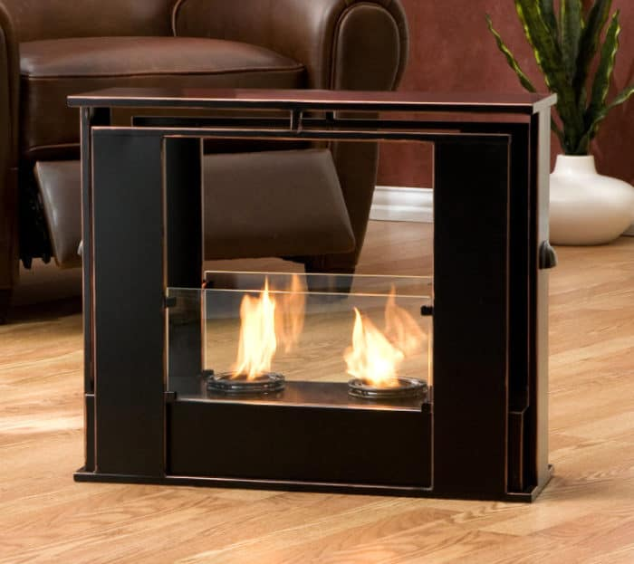 Ethanol-burning Fireplace