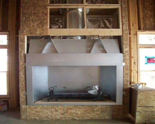 Installing a Gas Fireplace