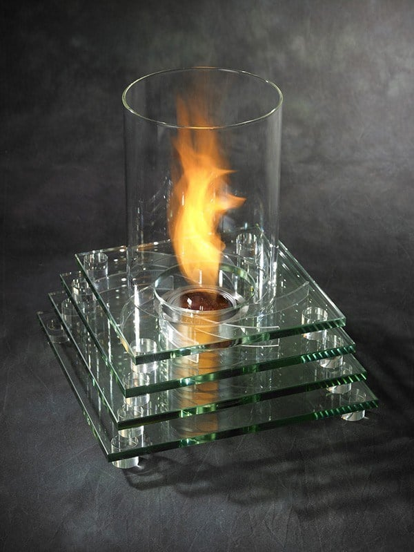 Table-top-fireplace