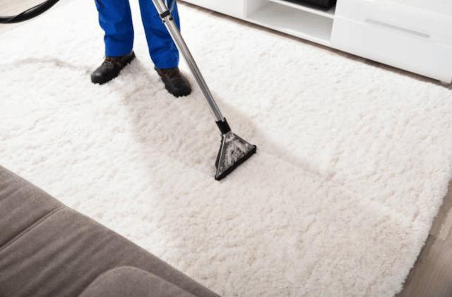 How to clean an area rug on hard floor