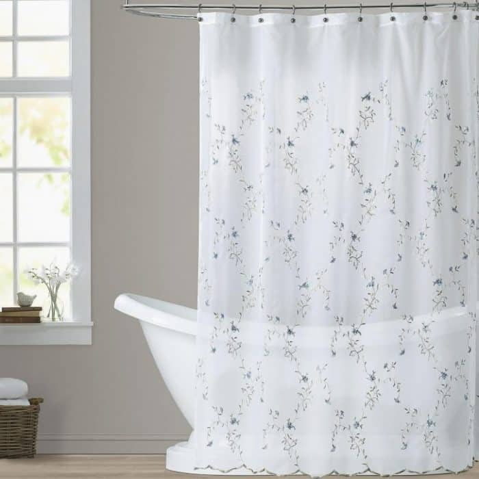 How to Clean Shower Curtains with Bleach