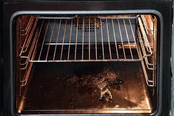 Clean a Self-Cleaning Oven by Yourself