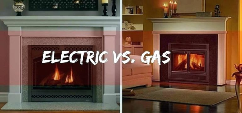 Electric Fireplace vs Gas Fireplace