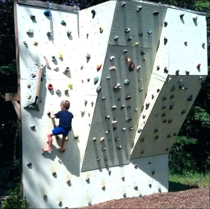 How to Build a Toddlers Rock Climbing Wall.