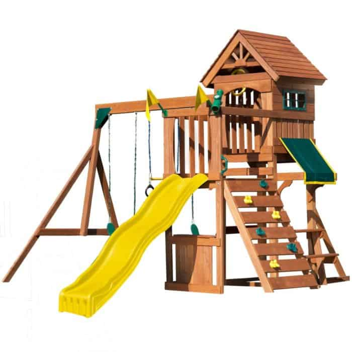 Play Fort with a Slide