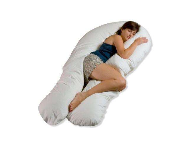 Moonlight Slumber Comfort U Total Body Support Pillow