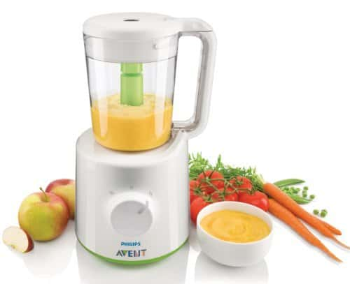 Philips Avent SCF870/21 Combined Baby Food Steamer along with Blender