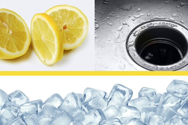 Deodorize The Garbage Disposal with lemon